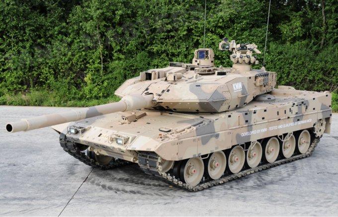 Танки Leopard 2A7 с комплексом активной защиты станут еще тяжелее