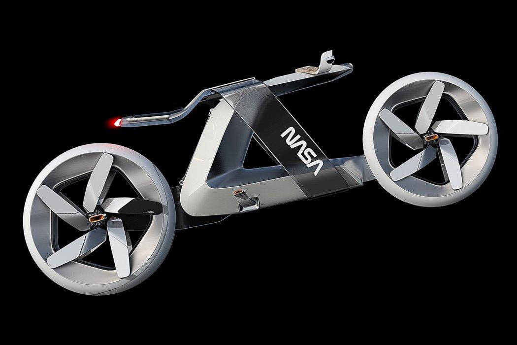 NASA-Bike: ветро-мотоцикл для Марса
