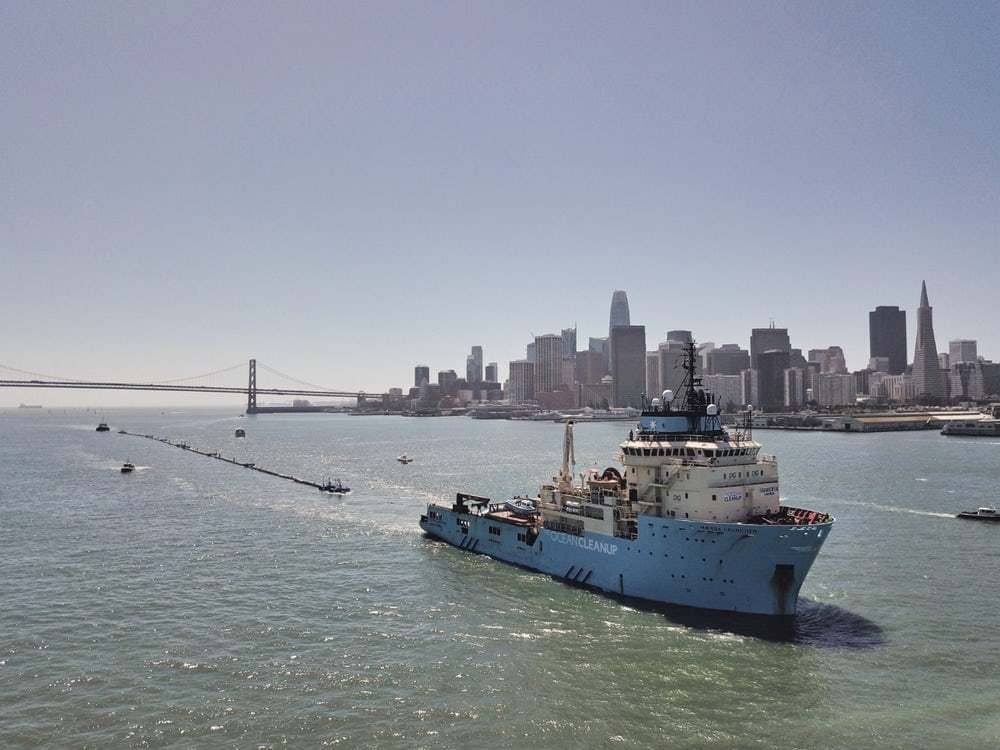 проект Ocean Cleanup