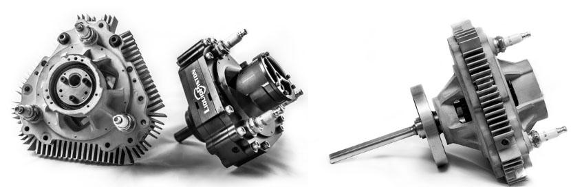 Роторный двигатель X Mini. Меньше, легче, тише и экономичнее аналогов