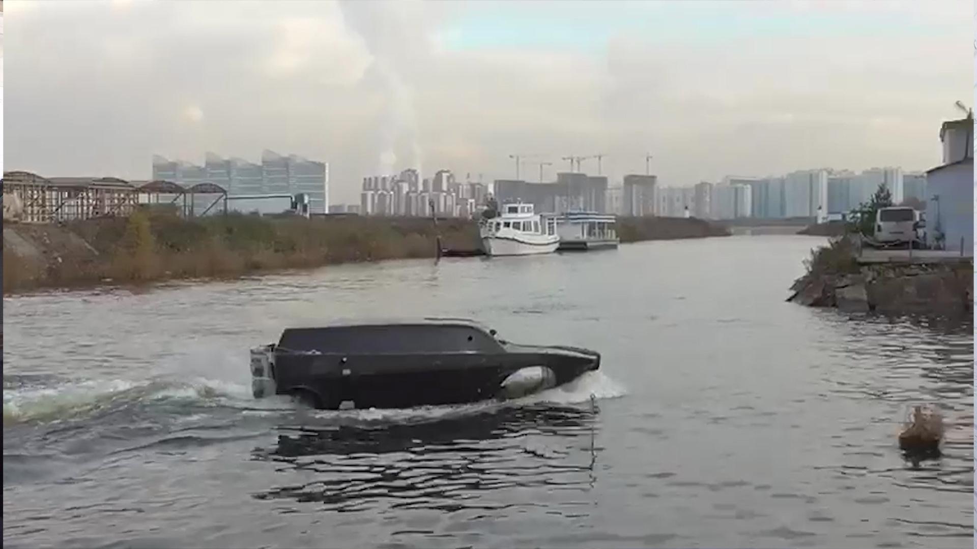 Российский «Дрозд». Глиссирующая машина-амфибия