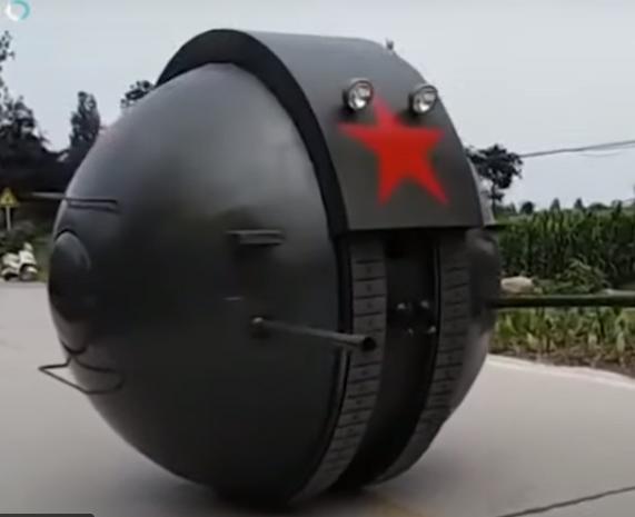 Шаротанк. Советский дизельпанк в Китае