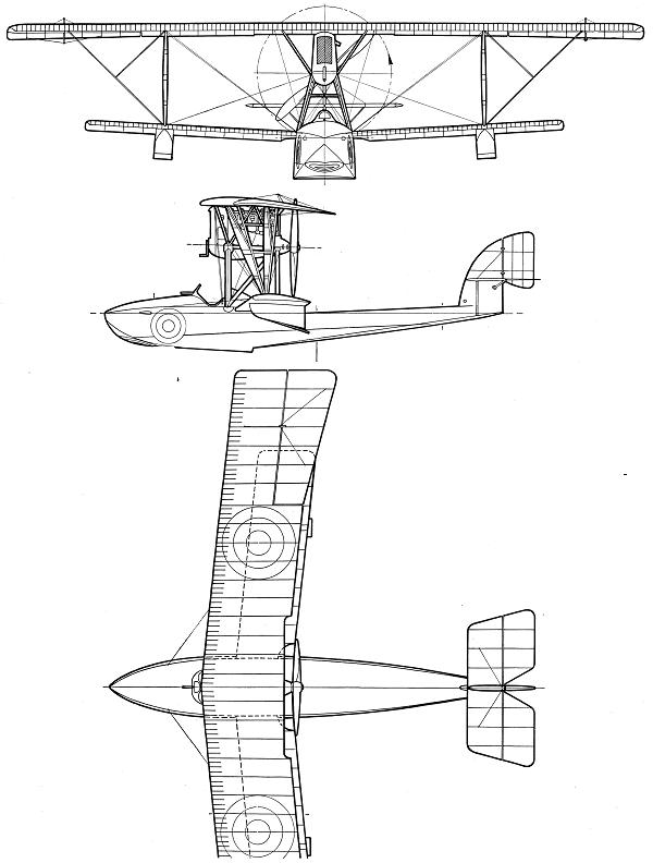 Морской истребитель Макки М.5