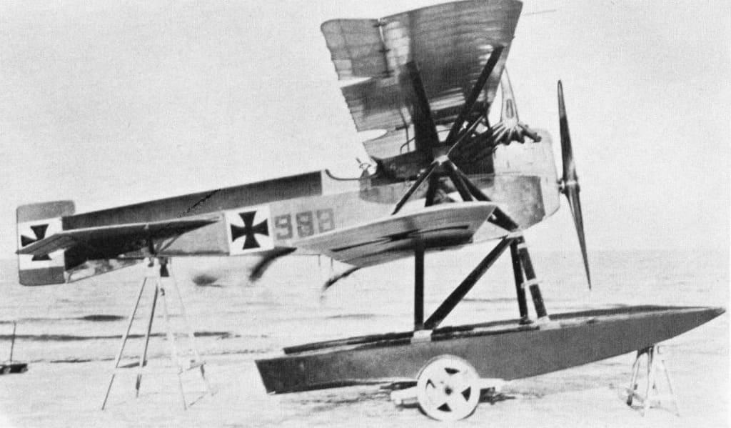 Морской истребитель Ганза-Бранденбург W 11