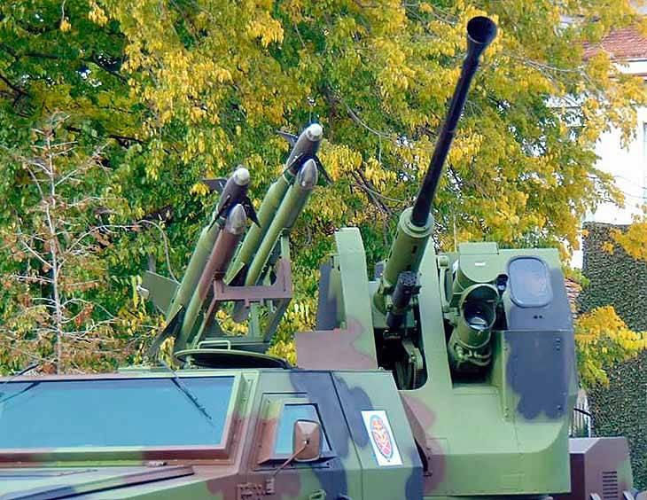 Сербский «Терминатор»: зенитный комплекс PASARS-16