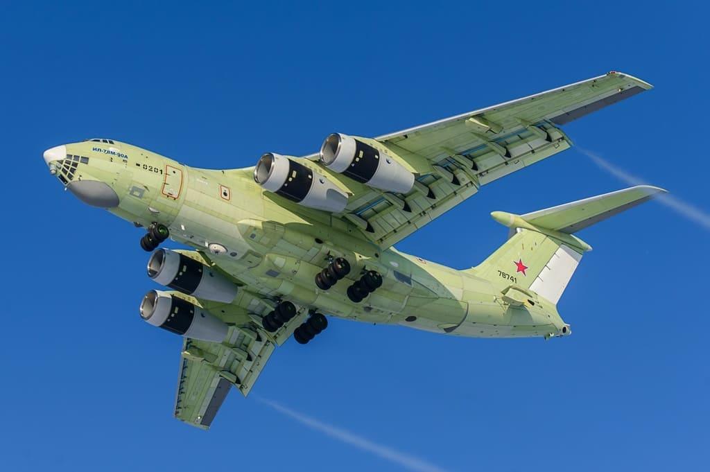 На Летно-испытательной станции «Авиастар-СП» продолжаются заводские испытания самолета-заправщика Ил-78М-90А