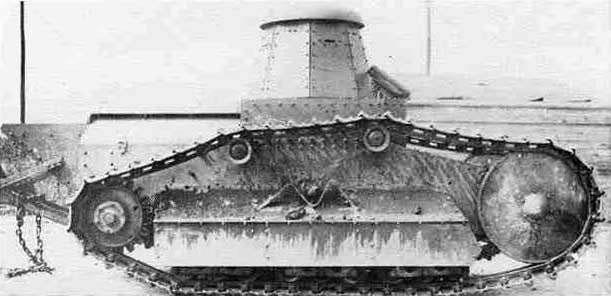 Полет фантазии американских изобретателей — танки Skeleton и Ford 3-ton Tank