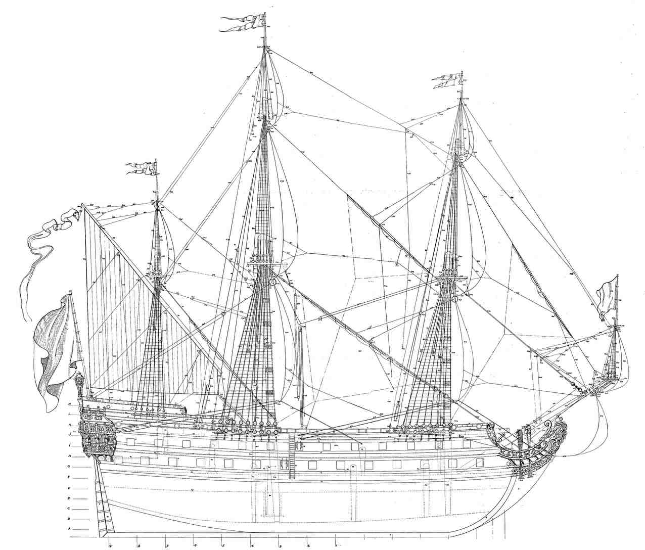 корабль le phenix, французский флот, французское судно