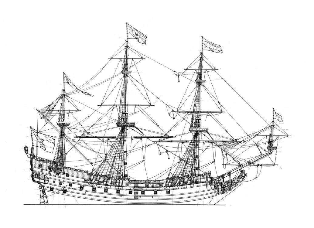 корабль prince willem, голландский флот, торговое судно