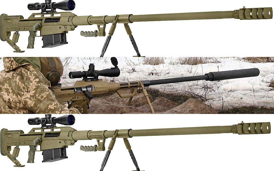 Украинская армия получит антиматериальную снайперскую винтовку Xado Snipex T-Rex