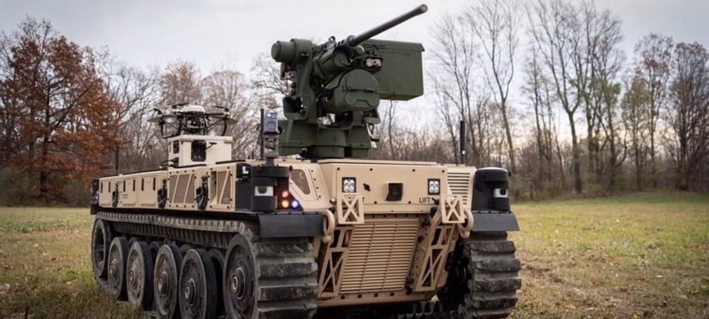 QinetiQ поставила партию роботов RCV-L армии США. Военные проверят концепцию роботизированных войск