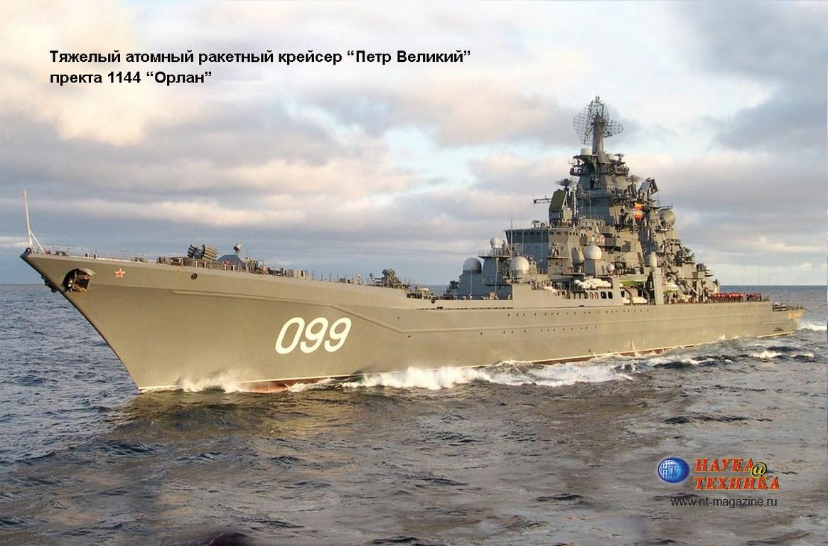 Фото 1 Тяжелый атомный ракетный крейсер