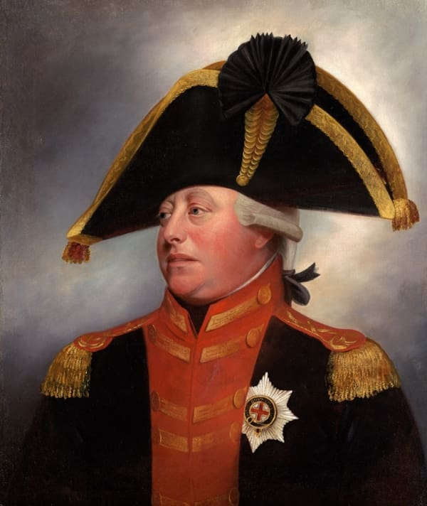 Георг III ( George William Frederick, George III) (1738-1820)