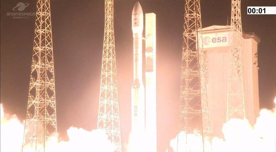 Названа причина аварии ракеты Vega с украинским двигателем