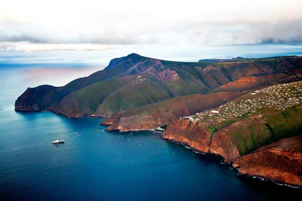 остров святой елены фото