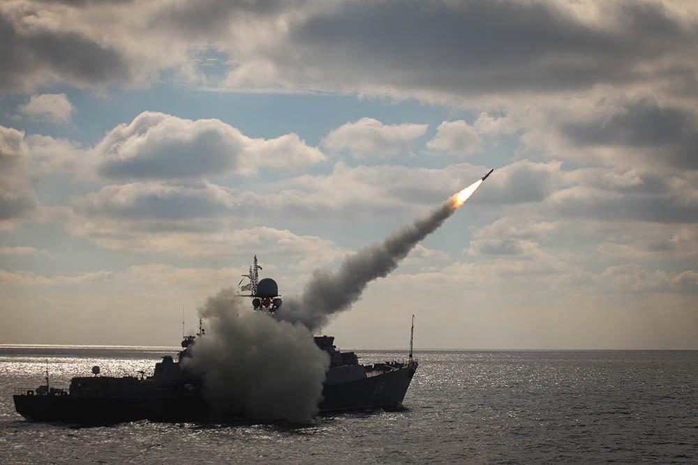 Zircon hypersonic missile