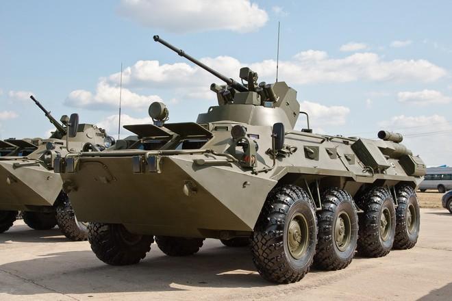 btr 82 1 Поставка бронетехники в войска. БТР-82А и БТР-82АМ