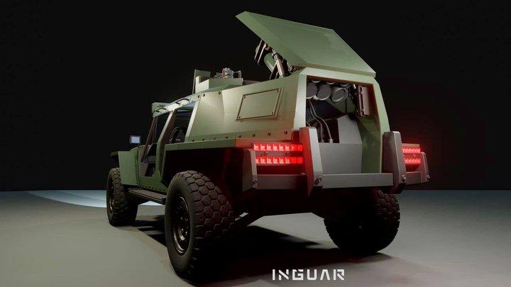 Украинская компания Inguar представила концепт легкой тактической боевой машины