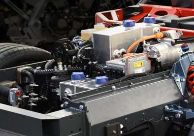 Электромотор массой 10 кг: высокая мощность и малый вес