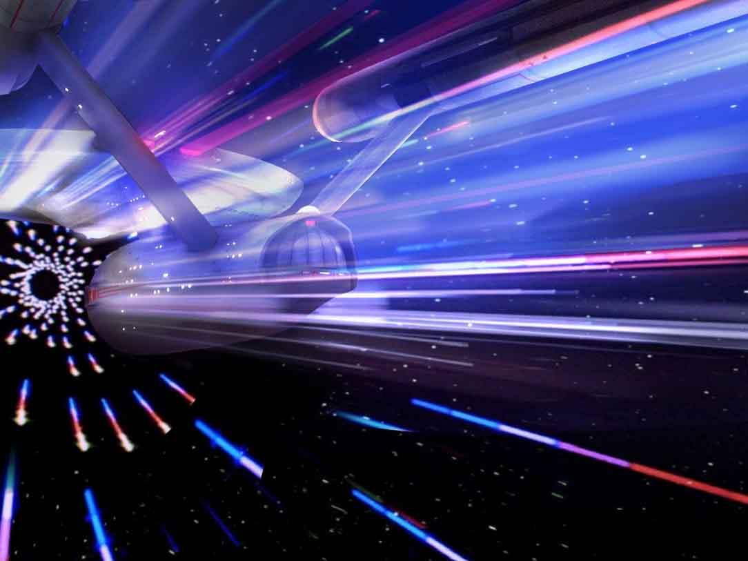 варп-двигатель, варп-пузырь, теория относительности, Эйнштейн, метрика Алькубьерра, Земля, пространство, космос, скорость света, астероид, солнечные вспышки, звезда, планета
