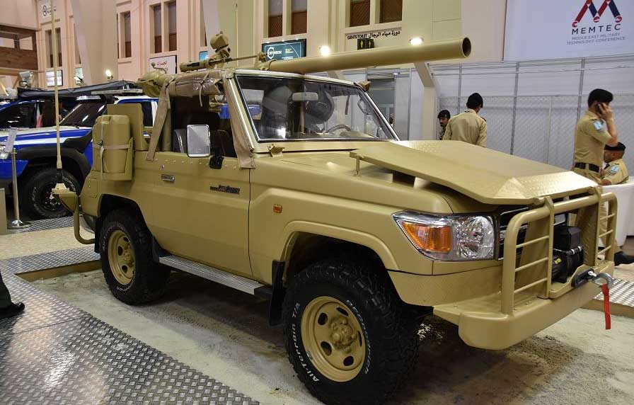 джип, шасси, Toyota Land Cruiser, пушка, армия