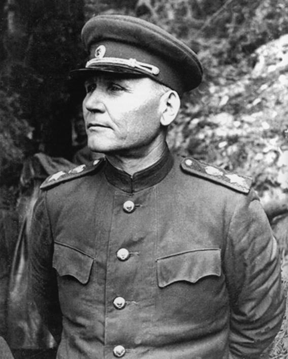 Командующий 1-м Украинским фронтом маршал Конев Иван Степанович