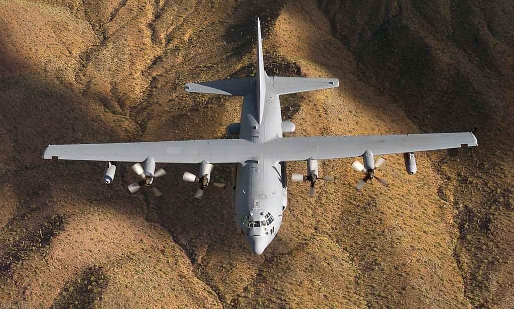воздушные силы сша, самолет ec-130h, учебный полет