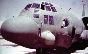 штурмовая авиация, самолет ac-130h, штрумовик c-130