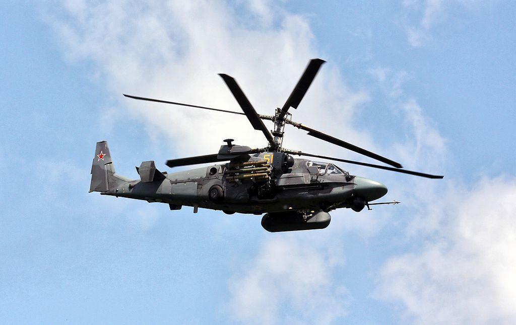 Модернизированный ударный вертолёт Ка-52М совершил первый полёт