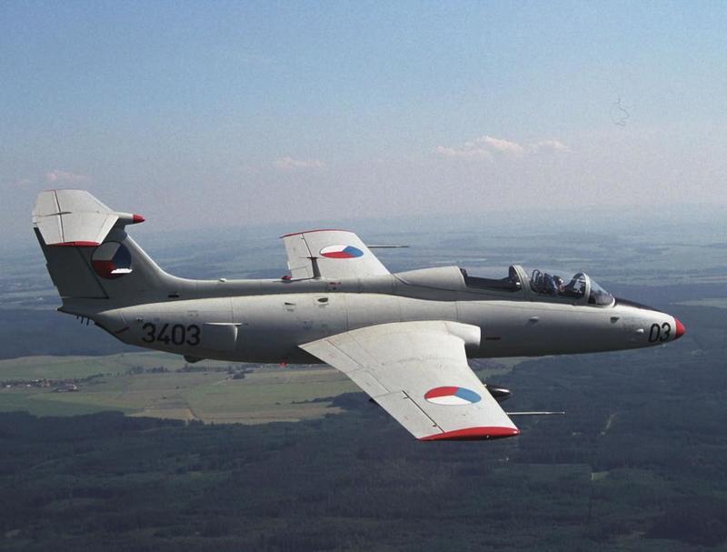 Чешские УТС Aero L-29 «Дельфин» в России