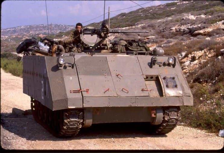 бронетранспортер М113А1, взвод «Bunny», пулемет, щиток, бак