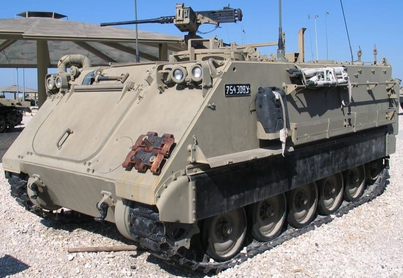 адаптация М113, Армия обороны Израиля, «Bardelas»