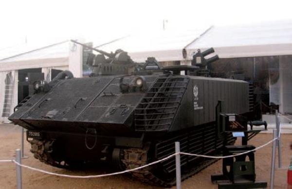 Израиль, М113, система защиты, дистанционное управление, пулеметная установка
