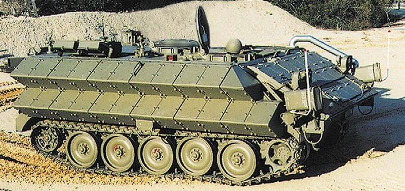 Прототип М113,система динамической защиты, легкая бронетехника, «Зельда 2»