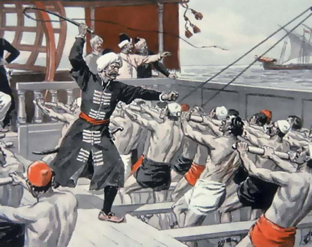 Гребцы военных флотов Позднего Средневековья