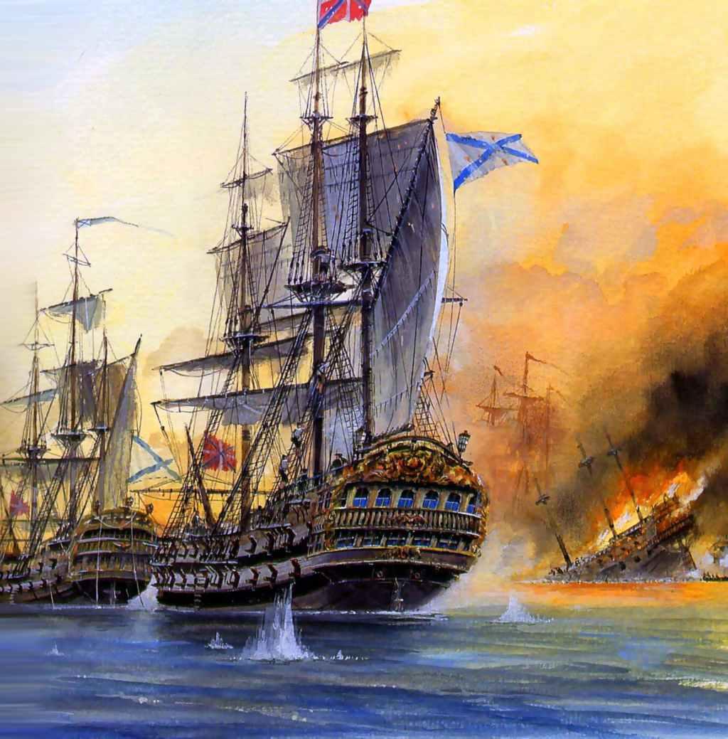 Картинка первого корабля