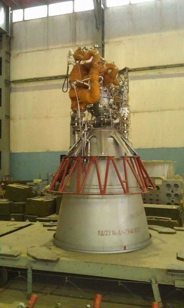 Роскосмос анонсирует выпуск новых двигателей для космических ракет