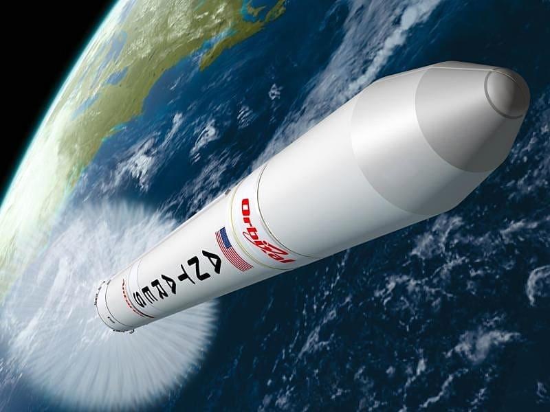 Американо-украинская ракета вывела на орбиту  корабль CYGNUS с грузом для МКС
