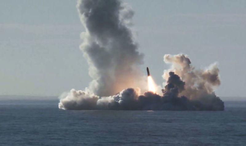 Российские военные испытали гиперзвуковую крылатую ракету