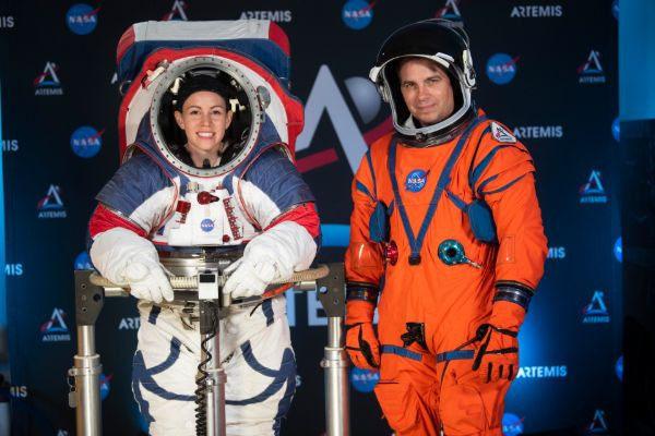 Новые скафандры для полетов на Луну и Марс