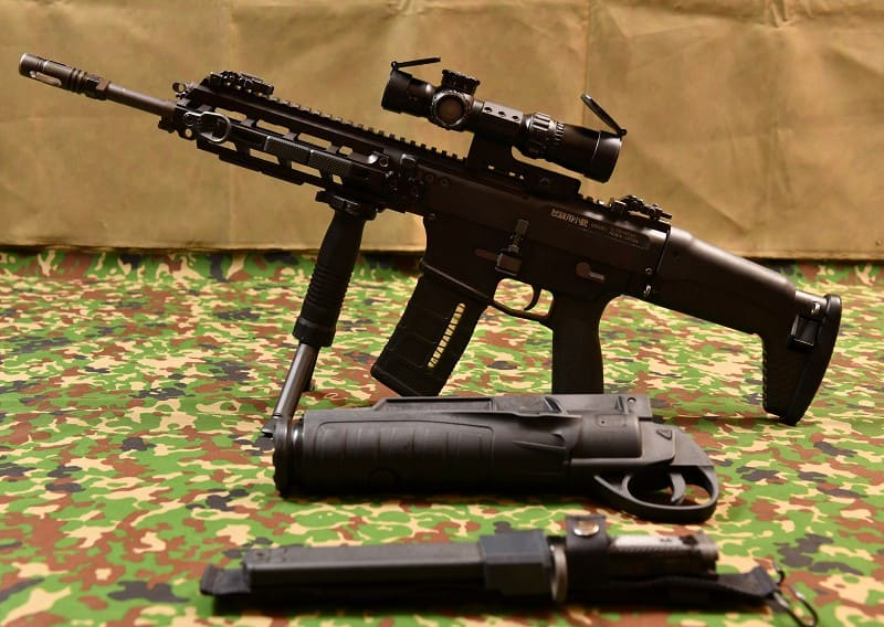 Минобороны Японии представило штурмовую винтовку следующего поколения