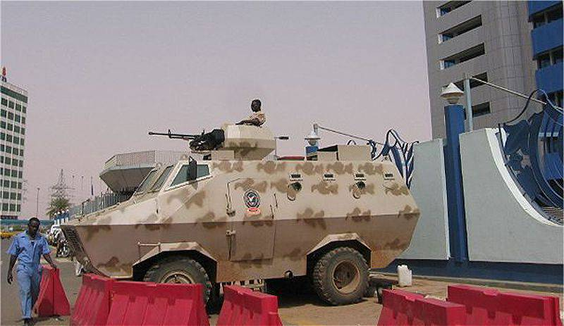 APC Rakhsh in Sudan