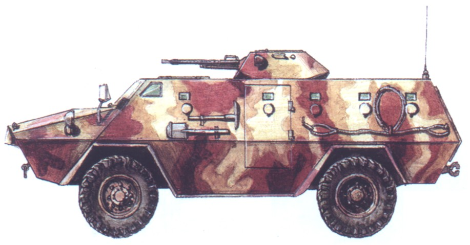 "Iranian armored personnel carrier ""Khodrosazi Cobra"""