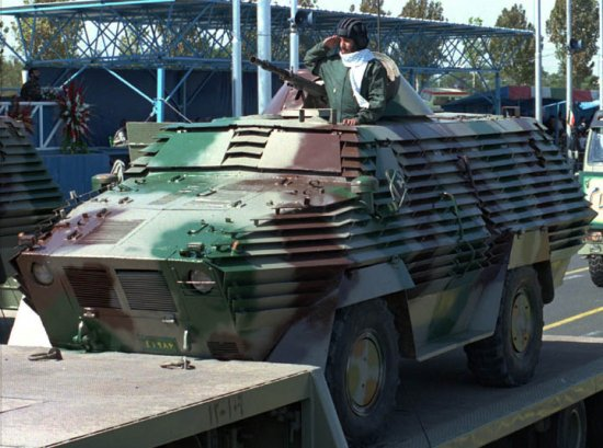 Iranian armored personnel carrier Rakhsh, probably prototype