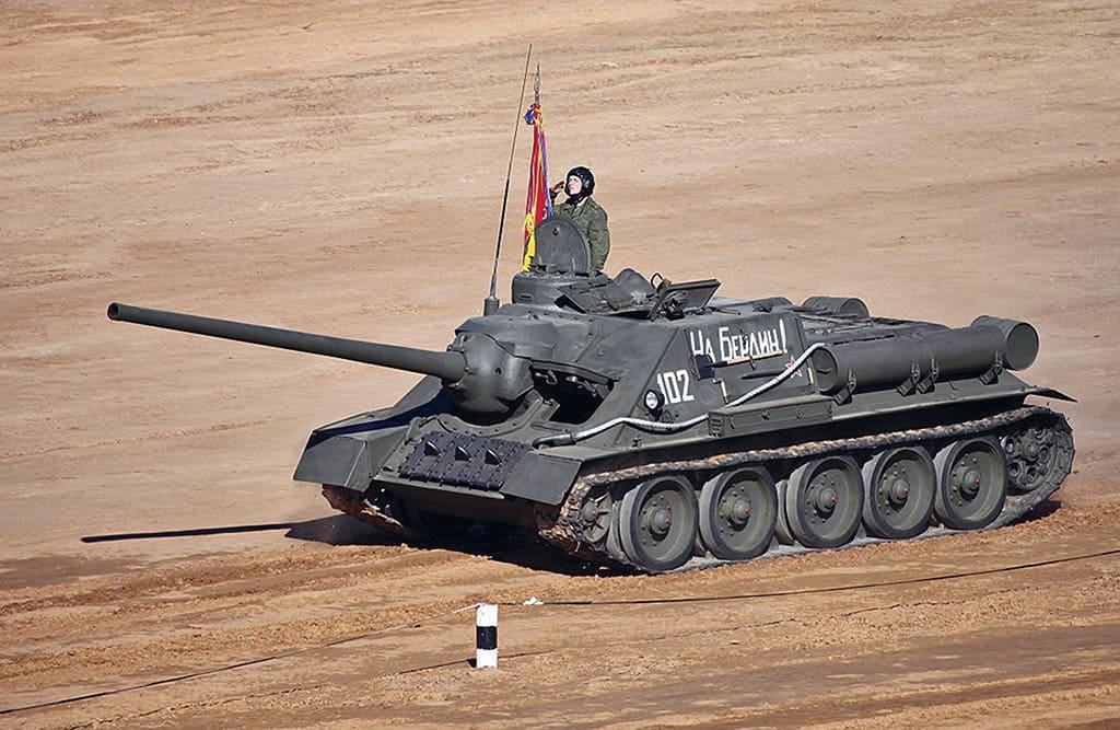 1 su 100 Истребитель «Тигров» и «Пантер». Лучшая советская САУ Второй мировой