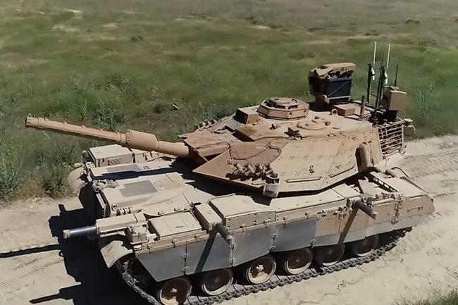 Украина модернизирует танки для Бразилии?