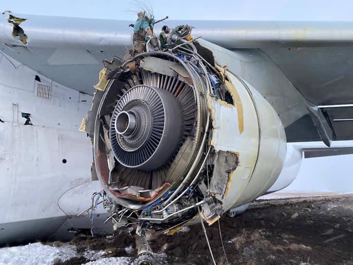 Д-18Т, двигатель, Мотор Сич, СССР, Ан-124 «Руслан», Ан-124, дефект